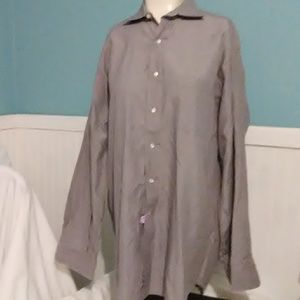 Mens Preswick & Moore Button Down Shirt. Size16/34